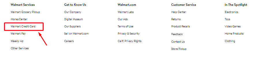 Apply For Walmart Credit Card And Pay Walmart Credit Card Payment