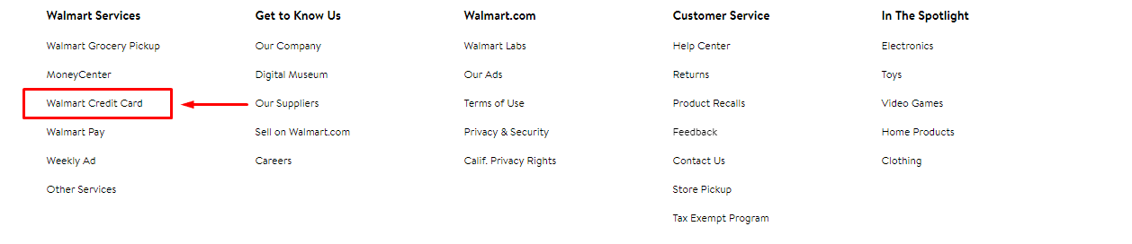 Walmart Credit Card Payment Login To Pay And Check Your Balance